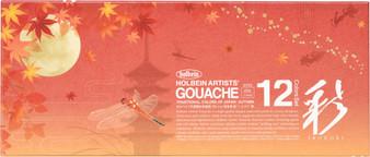 Holbein Irodori Gouache Limited Edition Seasons Set Autumn