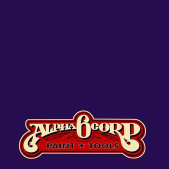 Alpha 6 Alphanamel Lettering Enamel 5oz Alpha Purple