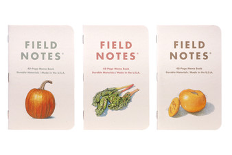 Field Notes Limited Edition Harvest Set of 3 - A