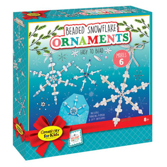 Faber Castell Creativity for Kids Beaded Snowflake Ornaments