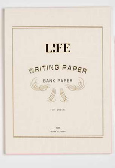 """Life Stationery Bank Paper pad """"Archi"""" 6X8 Blank"""