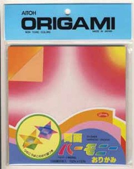 """Aitoh Origami Paper Pack Harmony 6"""" 35 Sheet"""