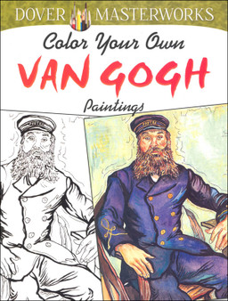 Dover Color Your Own Van Gogh Paintings