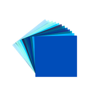 Aitoh Origami Paper Pack Shades of Blue