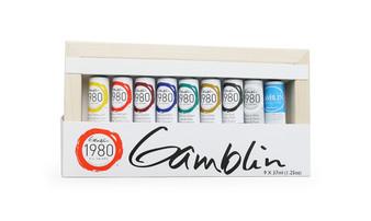 Gamblin 1980 Oil Paint Intro Set