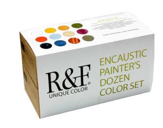 R&F Encaustic Painter's Dozen Set