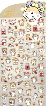 BC Mini Stickers Hamsters
