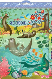 eeBoo Sketchbook Otters