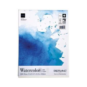 Fabriano Fat Pad 9x12 Watercolor 140lb 60 sheets