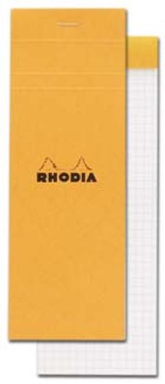 Rhodia Classic Stapled Topbound 3x8.25 Grid