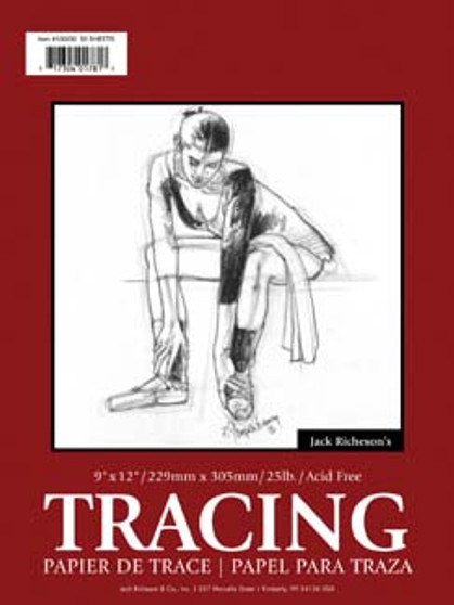 Jack Richeson Tracing Pad 18x24 30sh