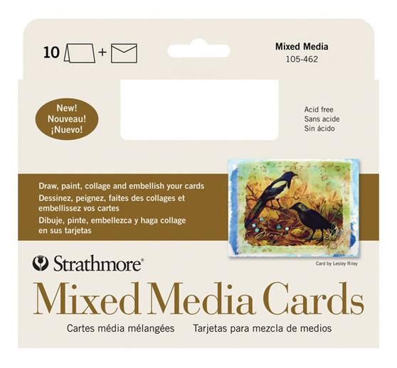Strathmore Card 5x7 Mixed Media