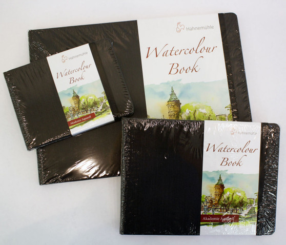 Hahnemuhle Watercolor Book 200G A4 8x12 30 Sheets
