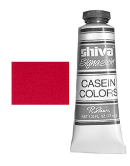 Shiva Signa-Sein Casein Series 4: 37ml Cadmium Red Extra Deep