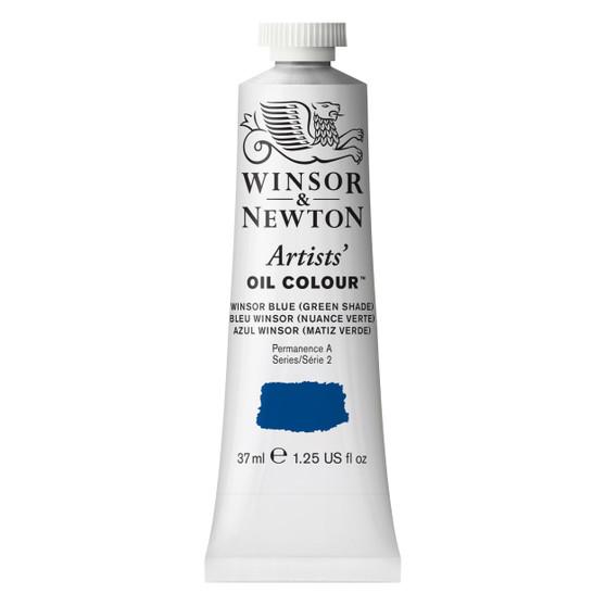 Winsor & Newton Artists Oil Colour 37ml Winsor Blue Green Shade