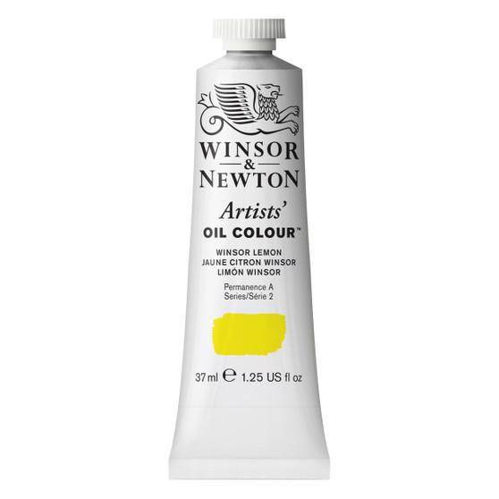 Winsor & Newton Artists Oil Colour 37ml Winsor Lemon
