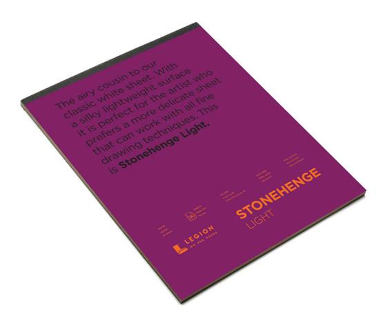 Stonehenge Lightweight White 11x14 Pad