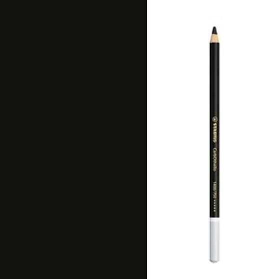 Stabilo Carbothello Pastel Pencil #750 Neutral Black