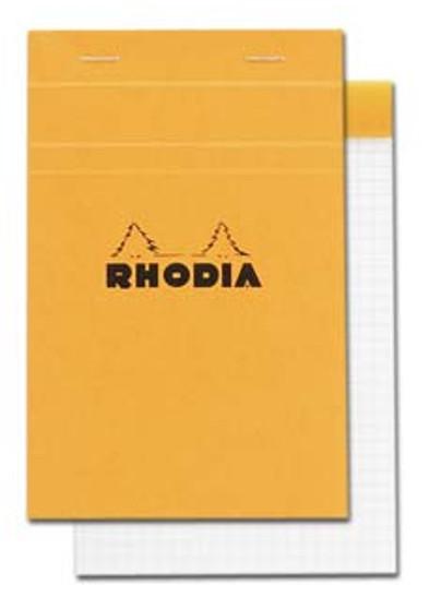 Rhodia Classic Stapled Topbound 4.5x6.7 Grid
