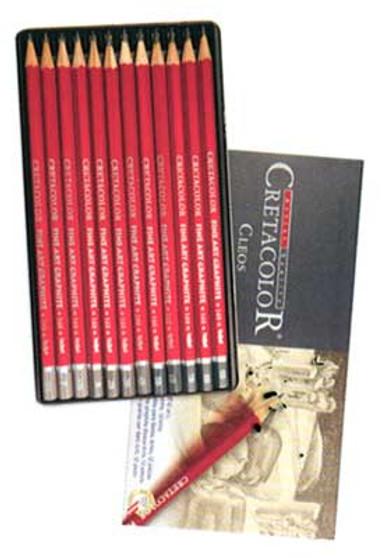 Cretacolor Cleos Fine Art Pencil Set 12