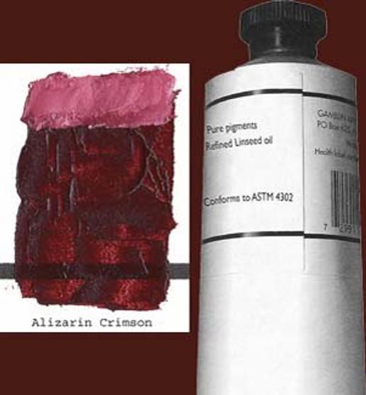 Gamblin Artists Oil Color 150ml Series 3: Alizarin Crimson