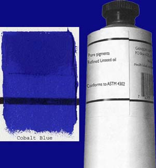 Gamblin Artists Oil Color 150ml Series 5: Cobalt Blue