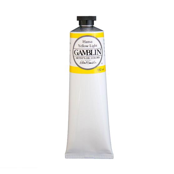Gamblin Artists Oil Color 150ml Series 3: Hansa Yellow Light
