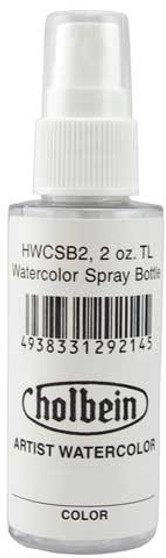 Holbein 2oz. Pump Spray Bottle for Watercolor