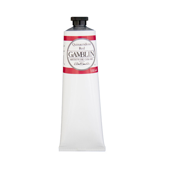Gamblin Artists Oil Color 150ml Series 3: Quinacridone Red