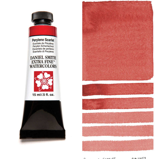 Daniel Smith Extra-Fine Watercolor 15ml Perylene Scarlet