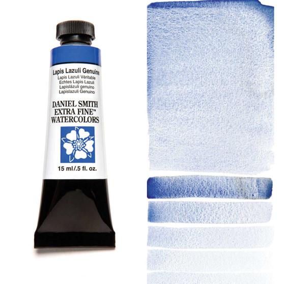 Daniel Smith Extra-Fine Watercolor 15ml Lapis Lazuli Genuine (Primatek)