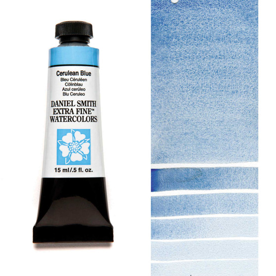 Daniel Smith Extra-Fine Watercolor 15ml Cerulean Blue