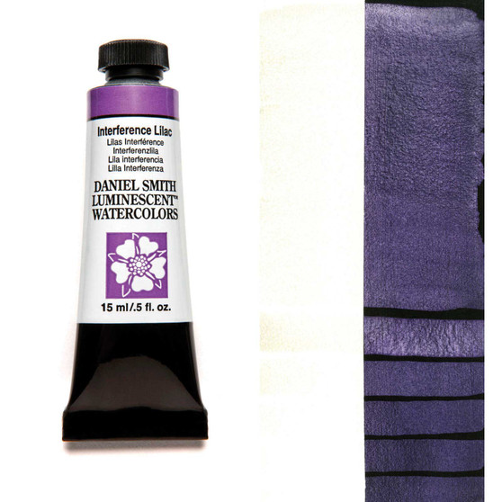 Daniel Smith Extra-Fine Watercolor 15ml Interference Lilac