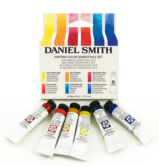Daniel Smith Essential 6 Color 5ml Tube Watercolor Set