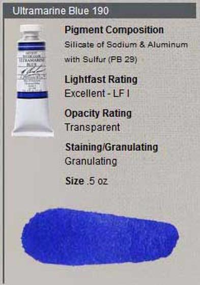 M. Graham Watercolor Series 3: 15ml Ultramarine Blue
