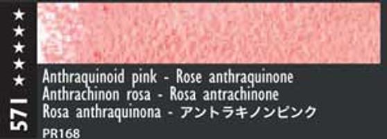 Caran d'Ache Museum Aquarelle Watercolor Pencil Anthraquinoid Pink