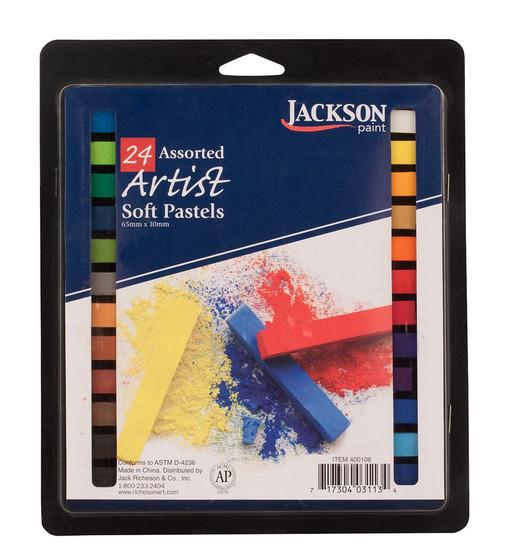 Jack Richeson Student Soft Pastel 24 Set