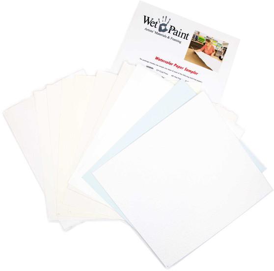 Wet Paint Watercolor Paper Sampler Pack