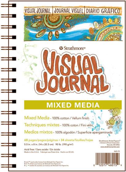 Strathmore Visual Journal Mix Media 5.5x8