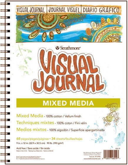 Strathmore Visual Journal Mix Media 9x12