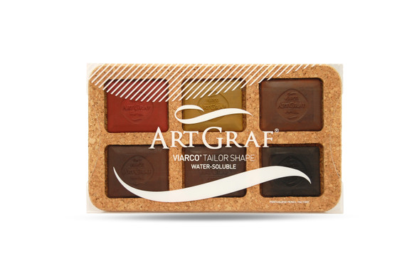 Viarco ArtGraf Tailor Shape Water-Soluble Earth Color Set