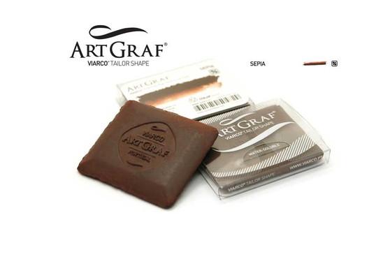 Viarco ArtGraf Watersoluble Tailor Shape Sepia