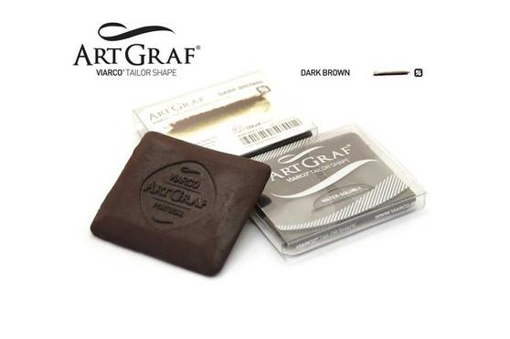 Viarco ArtGraf Watersoluble Tailor Shape Dark Brown