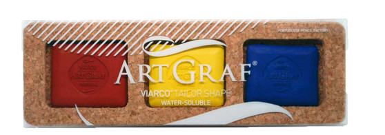Viarco ArtGraf Tailor Shape Water-Soluble Primary 3 Color Set