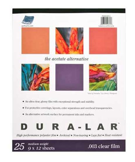 Grafix Dura-Lar Clear 005 Pad 11x14
