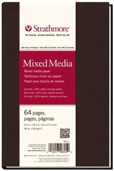 Strathmore 500 Series Mixed Media Hardbound Art Journal 5.5x8.5