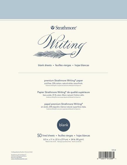 Strathmore Writing Series Blank Pad 8.5x11