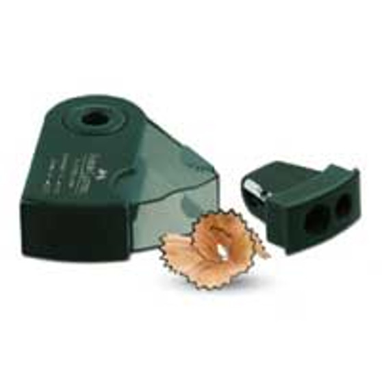Faber-Castell 9000 Double Hole Sharpener Black/Green