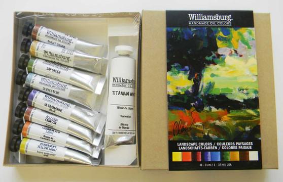 Williamsburg Oil Paint Landscape 9 Color Set