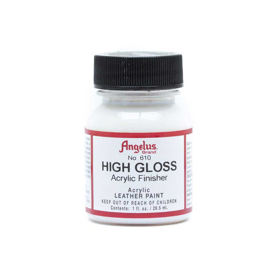 Angelus Leather Acrylic Finisher High Gloss 1oz
